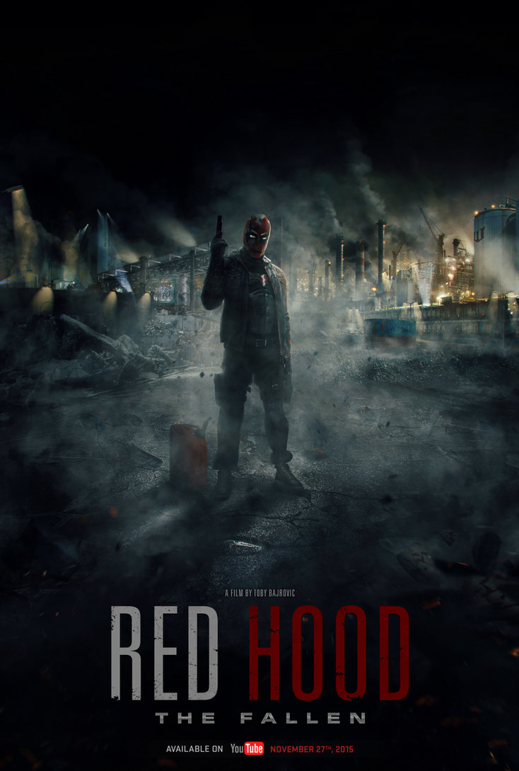 Red Hood The Fallen Poster #4  (Fan Film) by visuasys