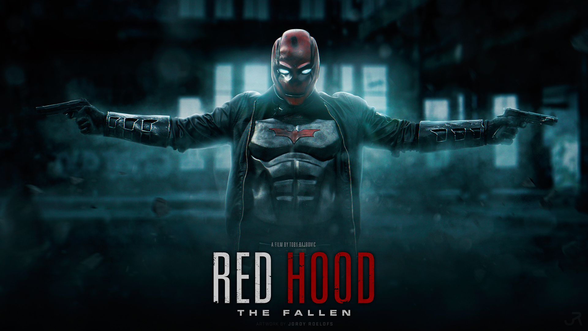 RED HOOD THE FALLEN - Wallpaper 1080P