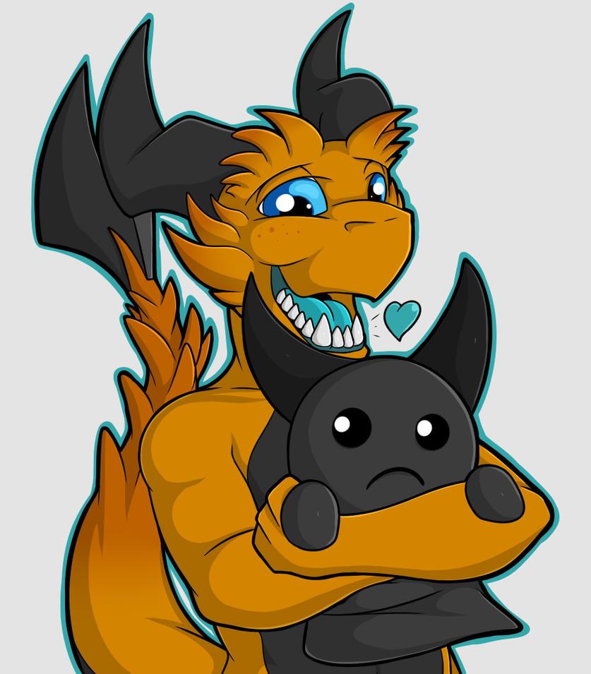 Dark Bum Huggles - Fan Art by Kurtassclear