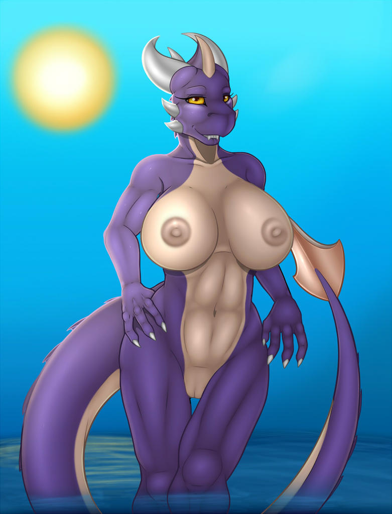 Commission - Amethyst Pin Up - Final by Kurtassclear
