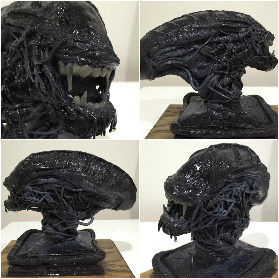 Xenomorph Sculpture by Malthuss