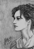 Anne Hathaway by airlabrador
