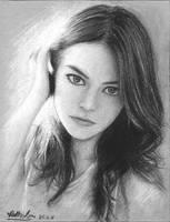 Emma Stone by airlabrador
