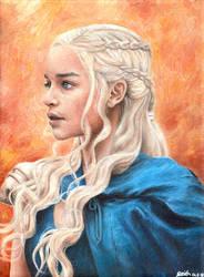 Daenerys Targaryen by airlabrador