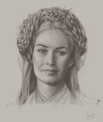 Cersei Lannister by airlabrador