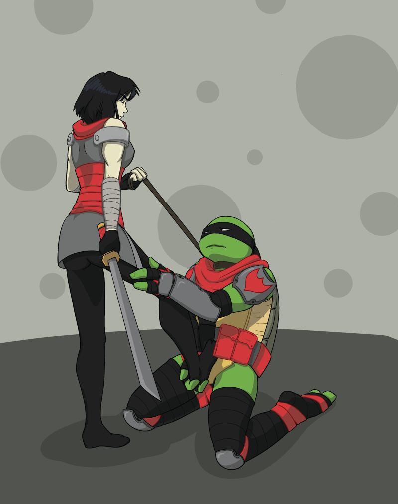 Teenage mutant ninja turtles leonardo and karai kiss fanfiction - photo#4