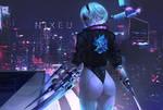 NieR x Cyberpunk 2077.
