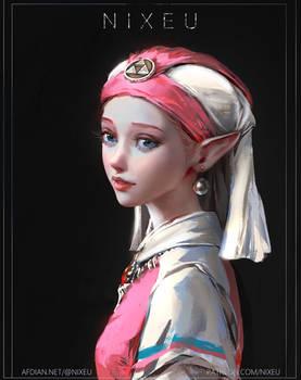 ZELDA [Girl with a Pearl Earring]