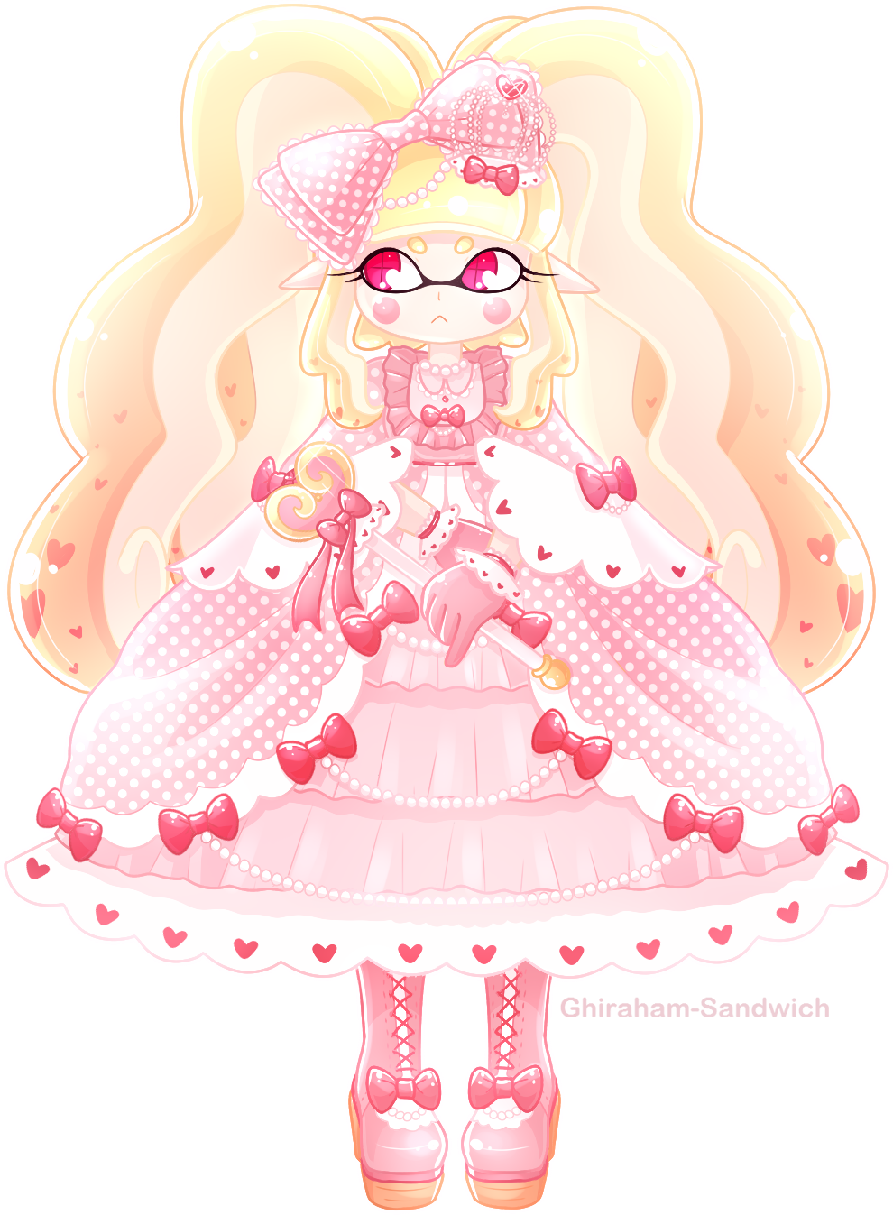 Hime Lolita Inkling by Ghiraham-Sandwich