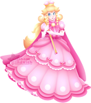 Peach with the Super Crown