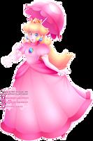 Princess Peach by Ghiraham-Sandwich