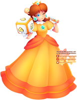 Princess Daisy by Ghiraham-Sandwich