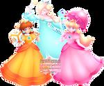 Peach - Daisy - Rosalina