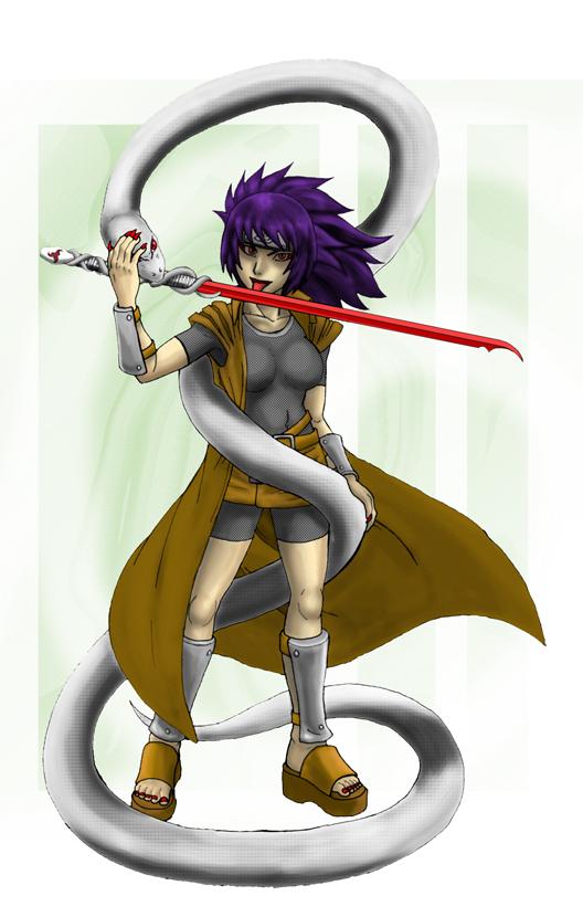 Naruto Shippuuden: Anko by jinoku on DeviantArt