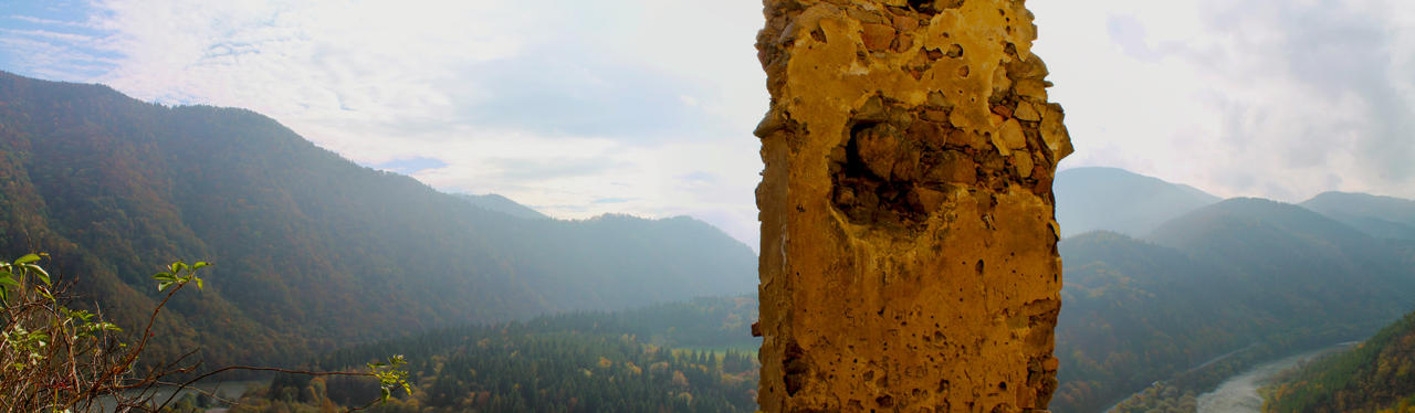 Panorama Old Strecno no2 by DreamerSK