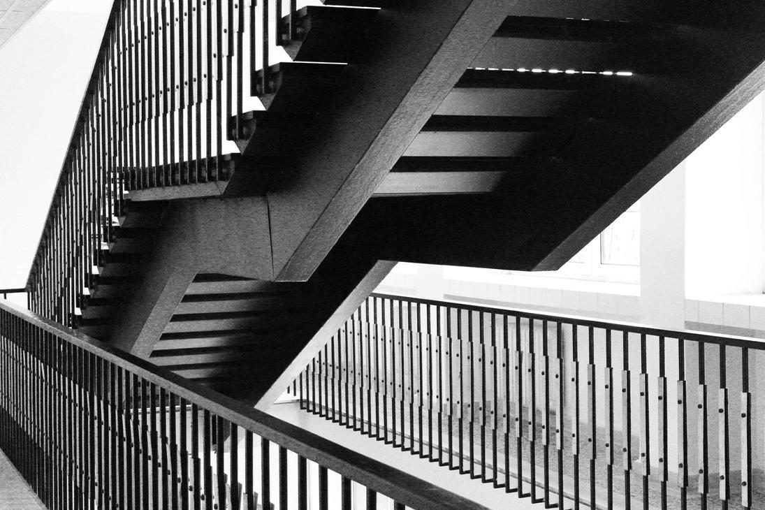 School Stairs by DreamerSK