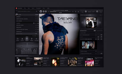 music player UI practice by dreamisland