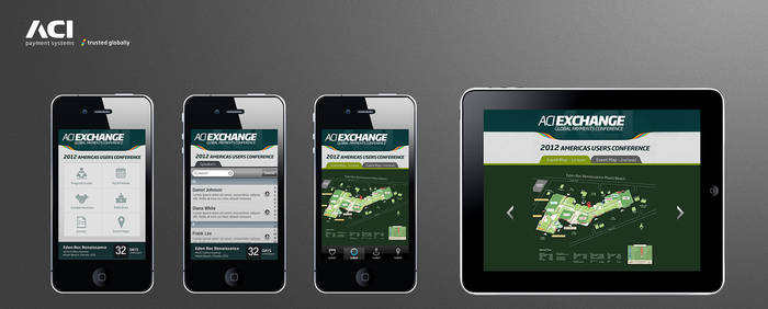 ACI conference mobile App design concepts