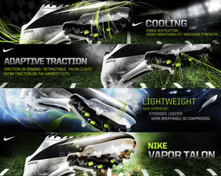 Nike vapor talon by dreamisland