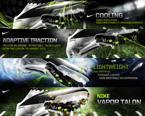 Nike vapor talon