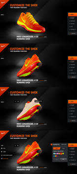 Nike iD digital signage pitch