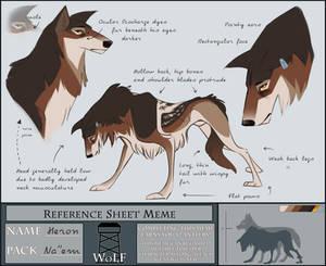 WoLF: Heron's Reference Sheet Meme