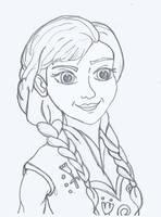 Anna sketch by denoodled