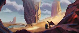 Trip through the desert