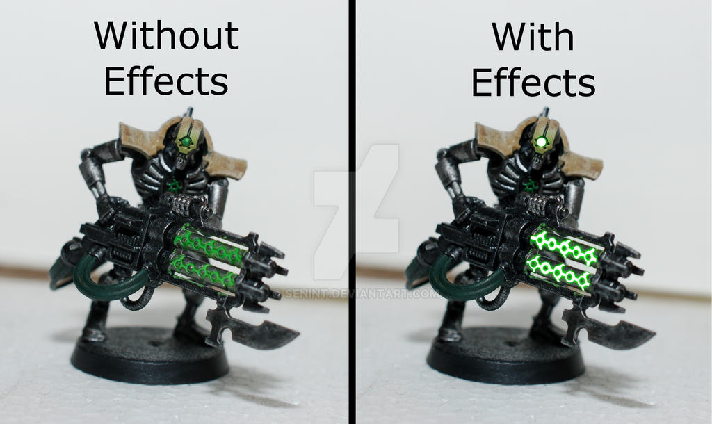 Necron Immortal (with Gimp Effects) By SenInt On DeviantArt