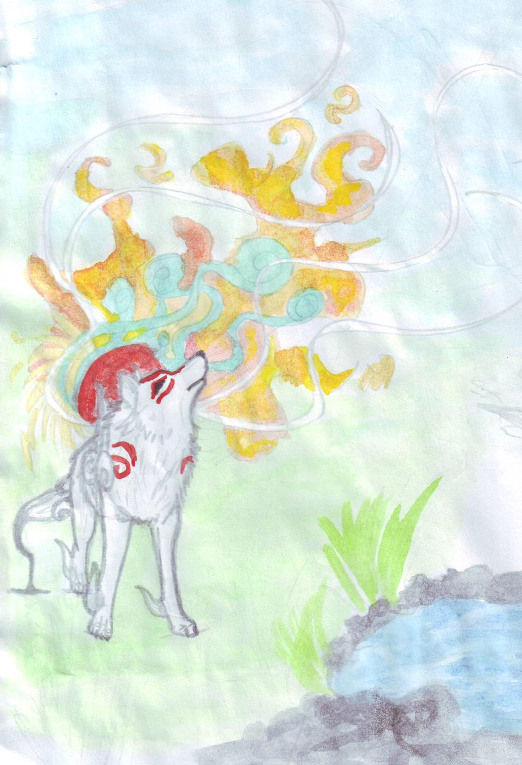Godess Amaterasu by Lucy101