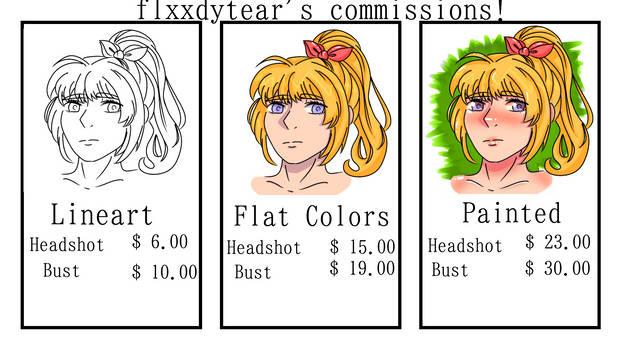 art commissions (open!!)