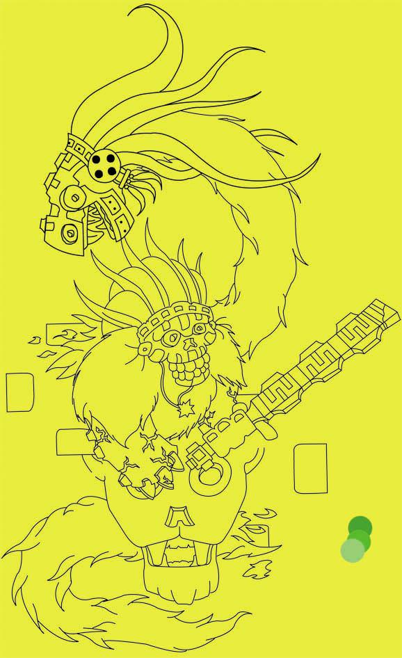 Aztec tattoo designs are