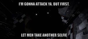 Freddy Stole The Spotlight