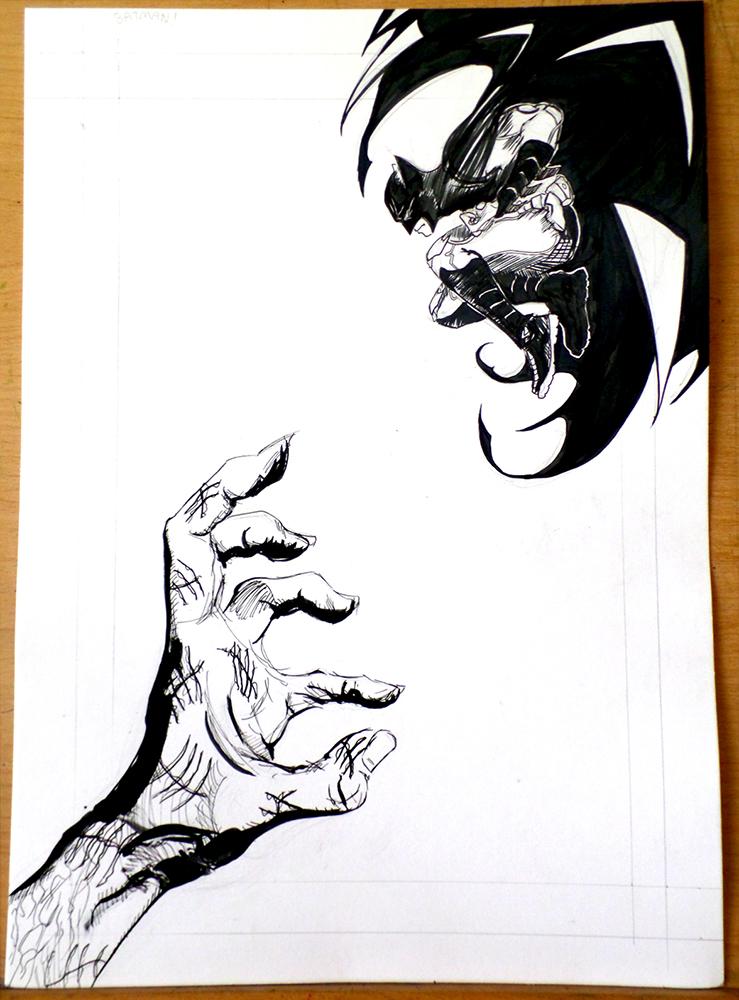 Batman Vs. Zsasz by WillMcLaren