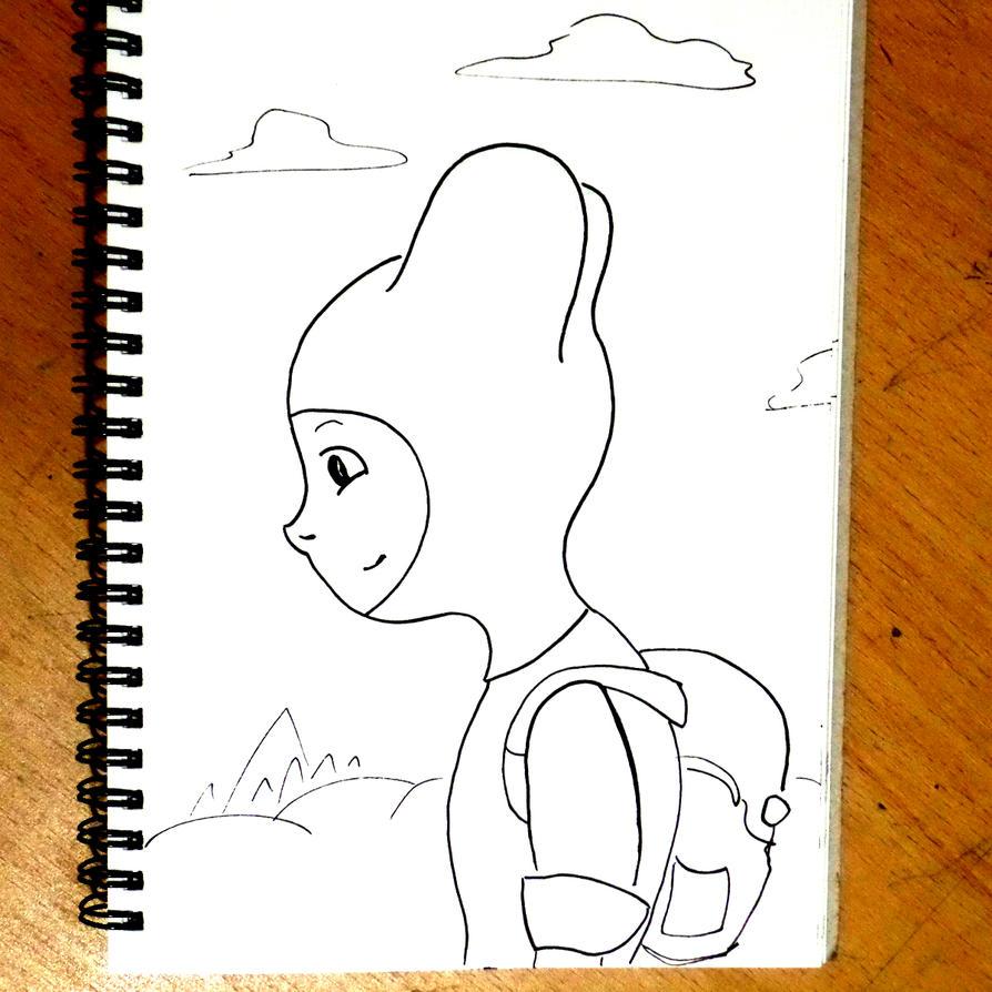 Adventure Time Finn Sketch by WillMcLaren