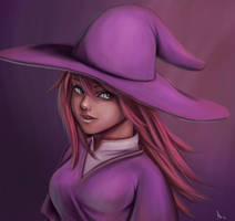 Witch by AnnePagno