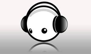 Headphones Smiley by Jekhinji