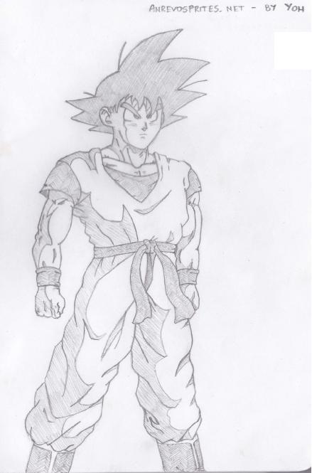 [Rysunki] by Yoh92 - Page 5 Goku_by_yoh92-d5wkw8z