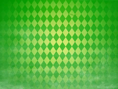 St Patrick's Day Green Diamond Pattern