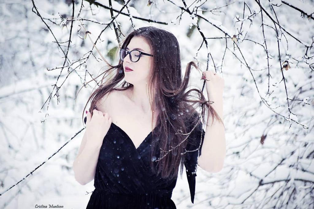 Into the cold by CristinaMuntean