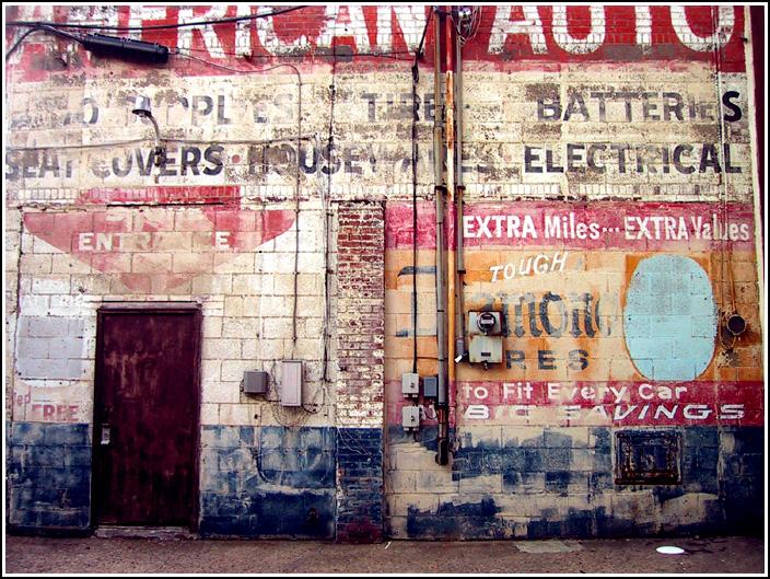 Urban Decay: American Auto by paperdolldreams