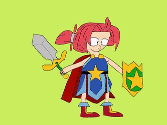 Hu-Girl - Wonder Boy: The Dragon's Trap
