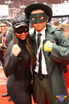 Green Hornet and Kato Cosplay - NYCC 2013