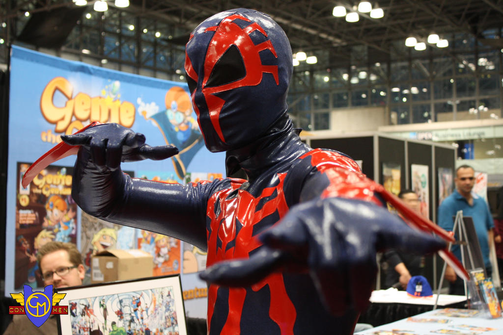 Spider-Man 2099 Cosplay - NYCC 2013