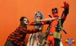 Zombie/Deadpool Cosplay - Montreal Comiccon 2014