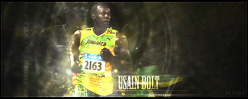 Usain Bolt by Olgut