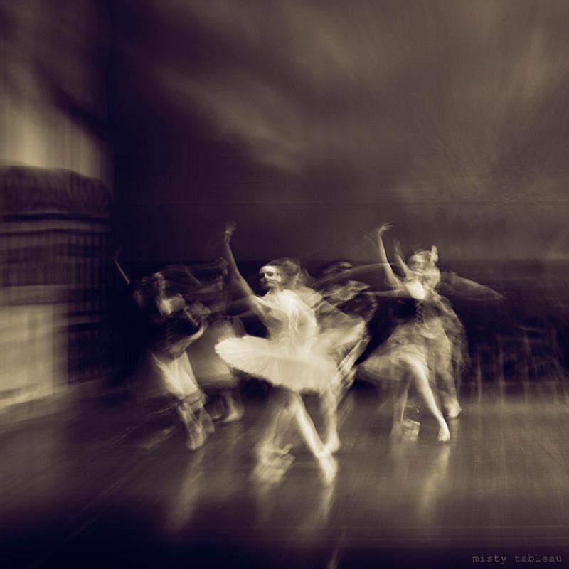 ghost ballerinas by MistyTableau