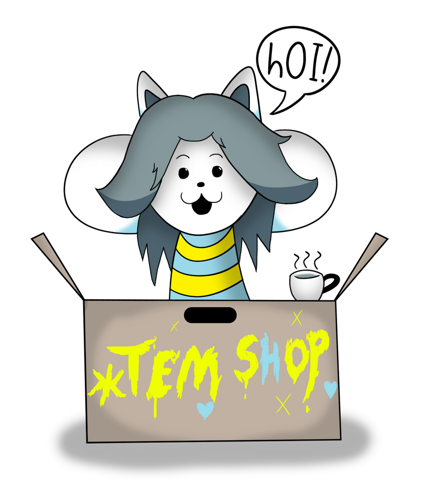 Temmie by OMGitsthatboy