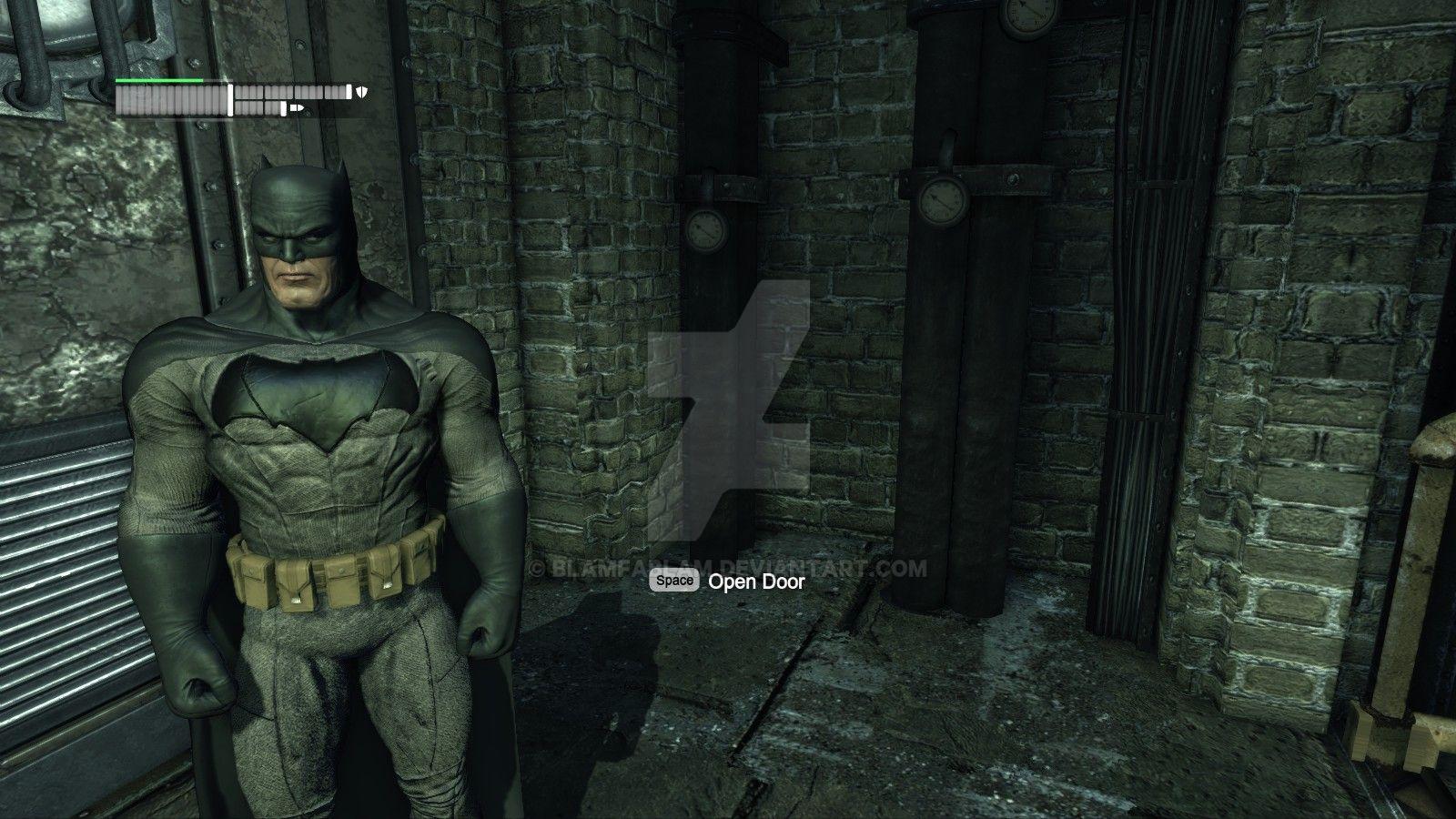 wiparkham city batman v superman batsuit update by