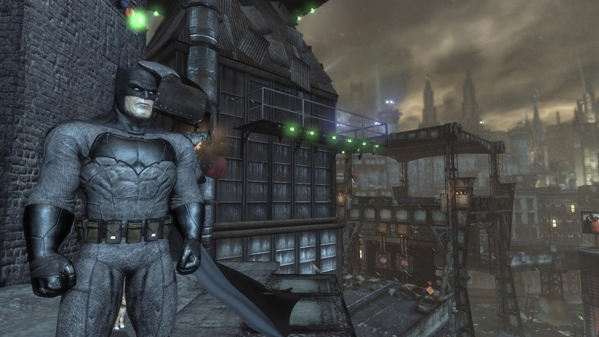 arkham city how to change skins